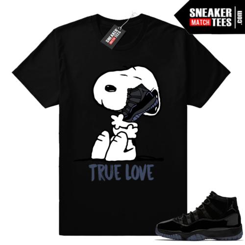 Jordan 11 shirts matching Cap and Gown 11