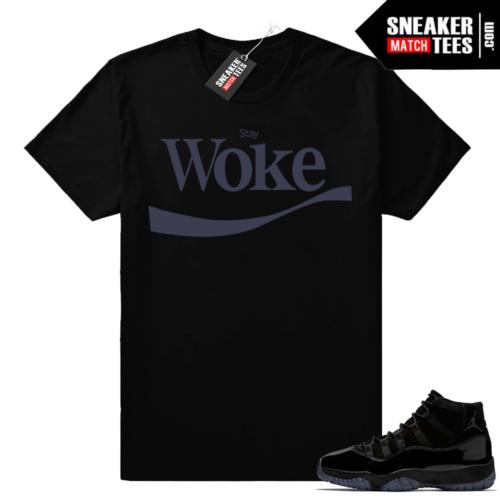 Jordan 11 sneaker matching tees