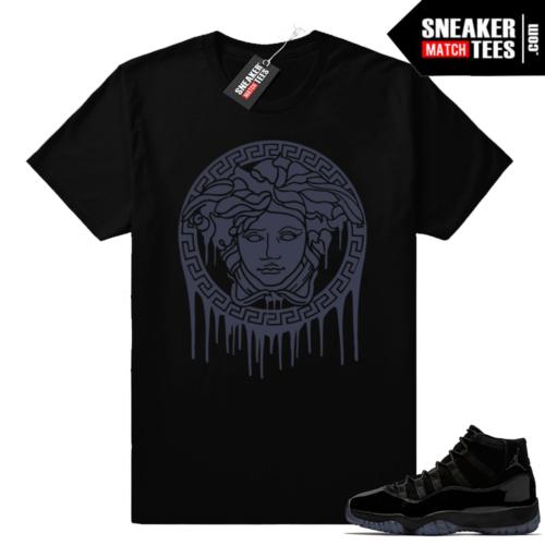 Jordan 11 sneaker tees Cap and Gown