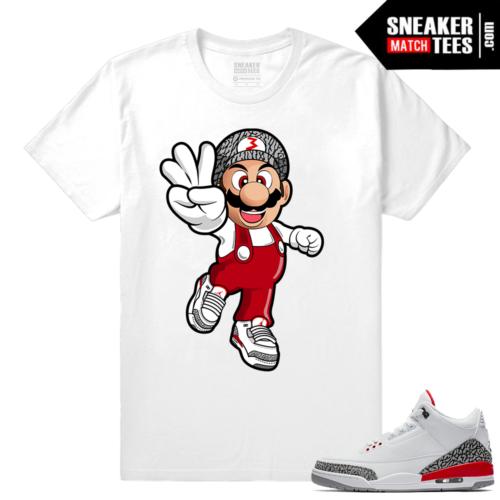 Jordan 3 Katrina Sneaker Match Shirt