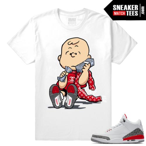 Jordan 3 Katrina matching tee shirts
