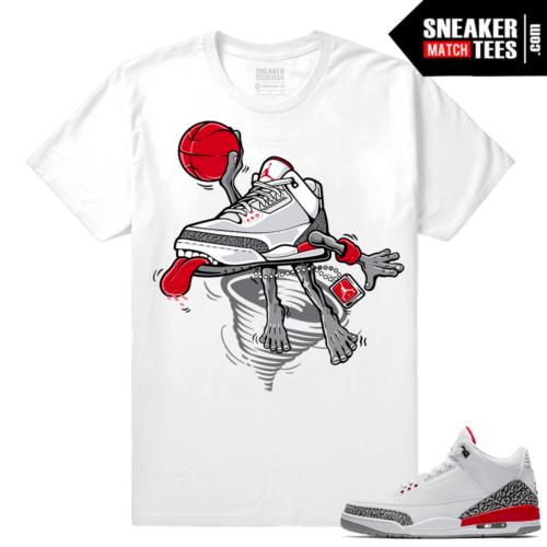 Jordan 3 Katrina shirt match