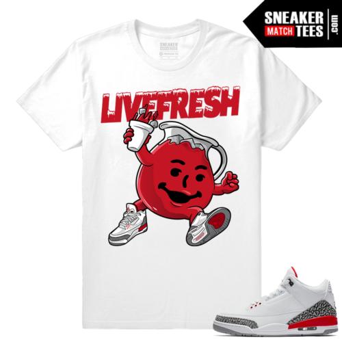 Jordan 3 shirts Katrina