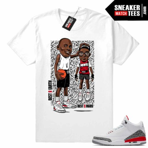 Jordan 3 Sneaker Matching Tees