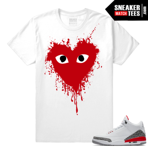 Jordan 3s matching shirt Hall of Fame 3