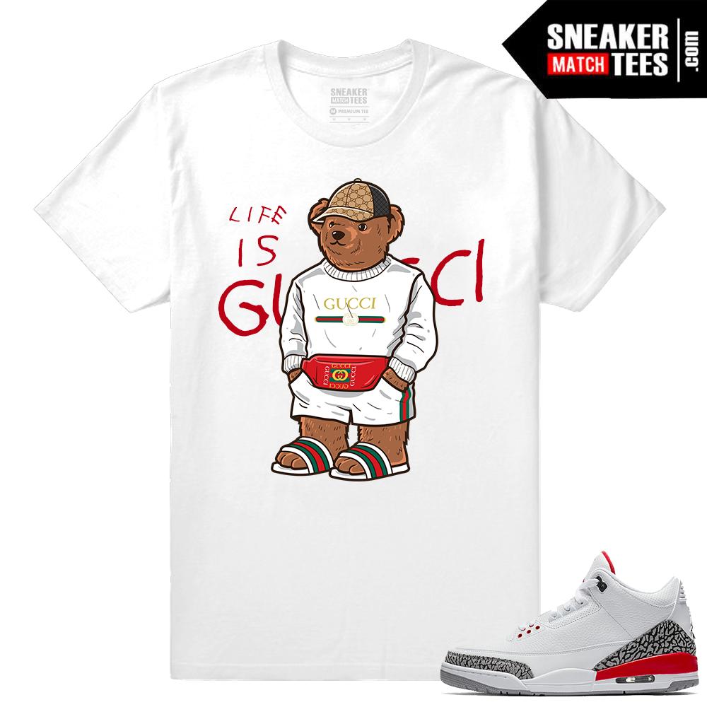 921415b8721bc7 Katrina 3s Shirt Gucci Bear Life Is Gucci