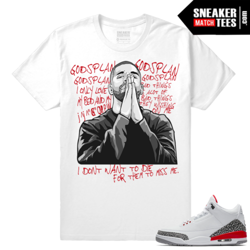 Match Jordan 3 Hall of Fame Shirts