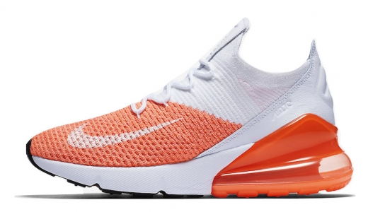Nike Air Max 270 Flyknit Crimson Pulse