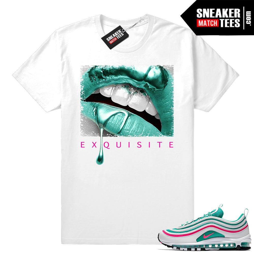 90d741c93 Nike Air Max 97 Shirts South Beach • Exquisite Lips • White tee