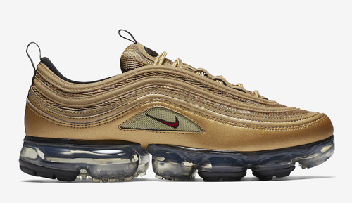 Nike Air Vapor Max Metallic Gold
