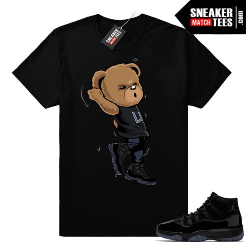 Shirt to match Jordan 11 Cap and Gown