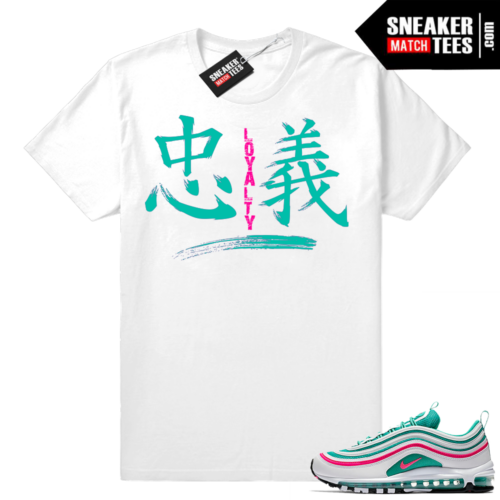 South beach shirt match Air Max 97