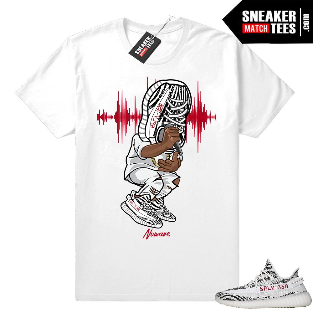 Yeezy Zebra shirt