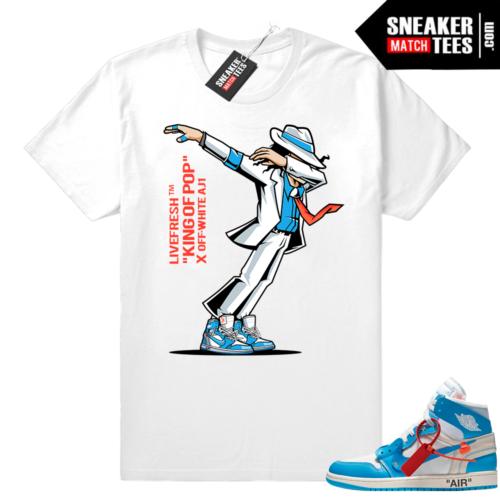Air Jordan 1 OFF white tee shirt