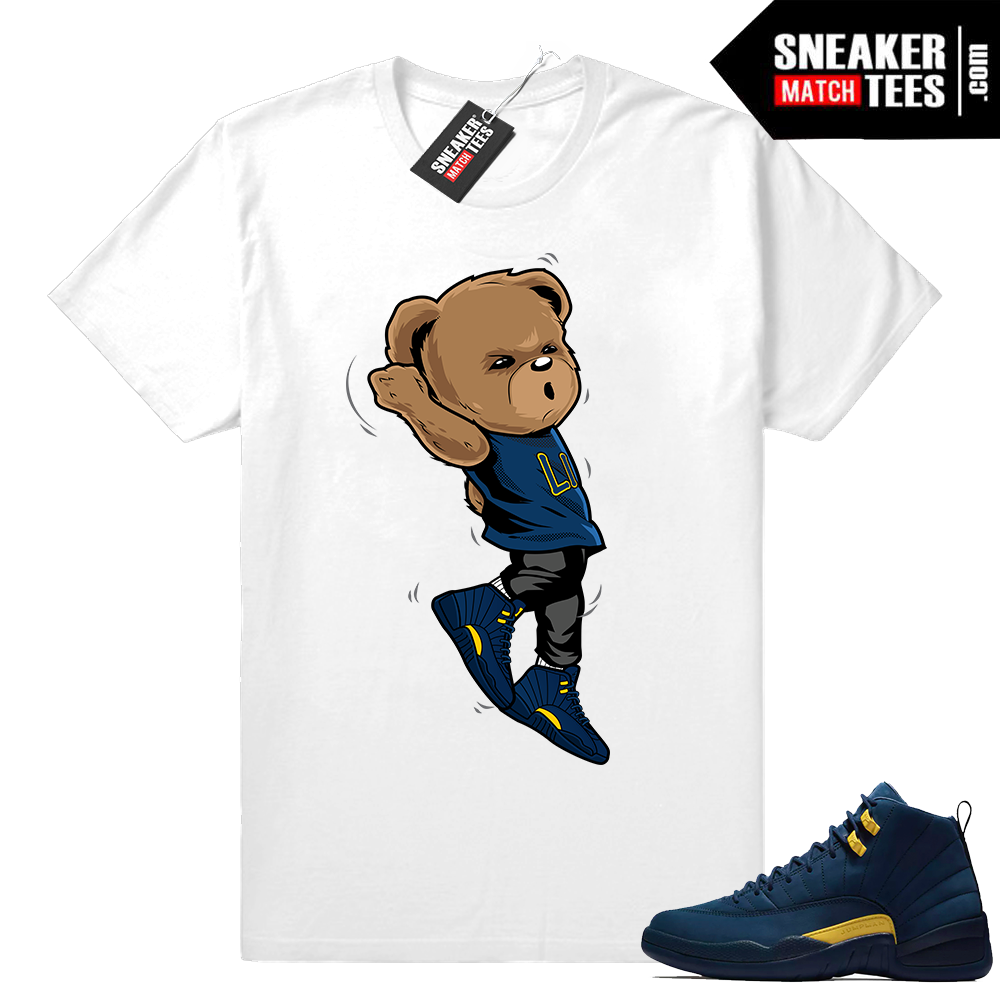 Air Jordan 12 clothing t shirts