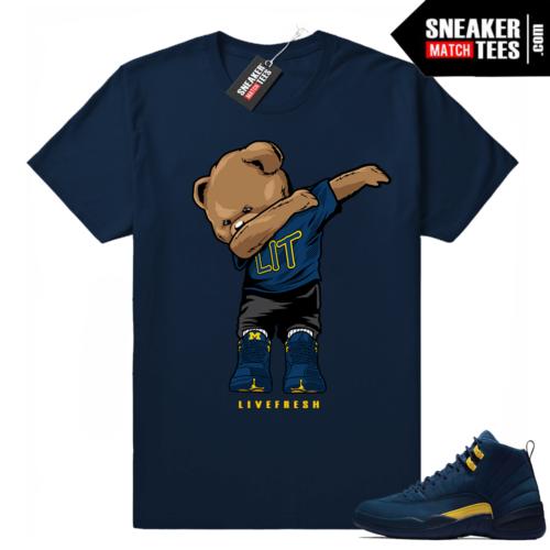 Air Jordan 12 sneaker tees