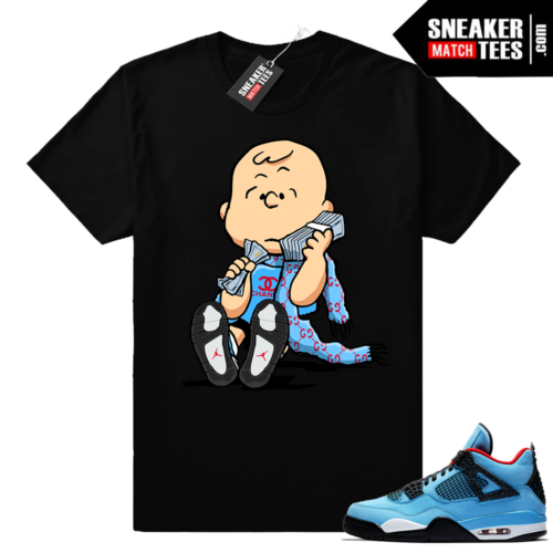Air Jordan 4 Cactus Jack t shirt match