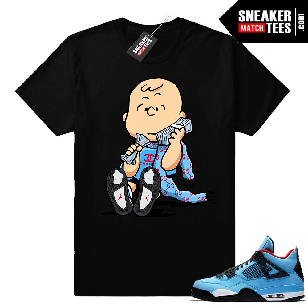 Air Jordan 4 Cactus Jack t shirt match