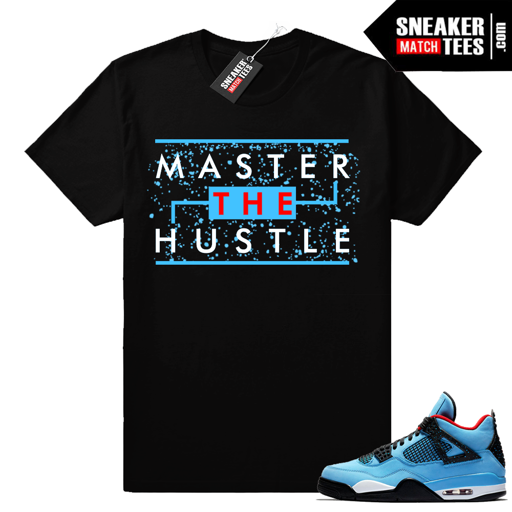 Air Jordan 4 Travis Scott shirt