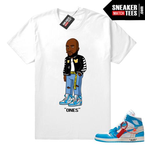 Jordan 1 Off white shirt