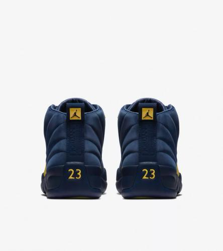 Jordan 12 Michigan _3