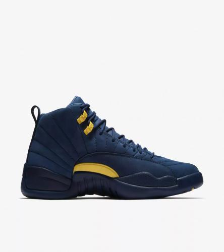 Jordan 12 Michigan _5