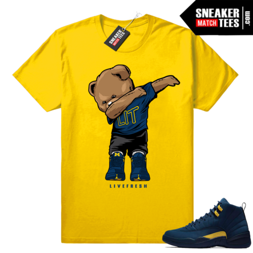 Jordan 12 shirts sneaker tees