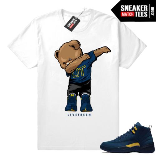 Jordan 12 shirts to match