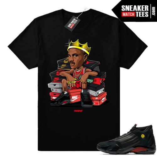 Jordan 14 Last Shot MJ King shirt