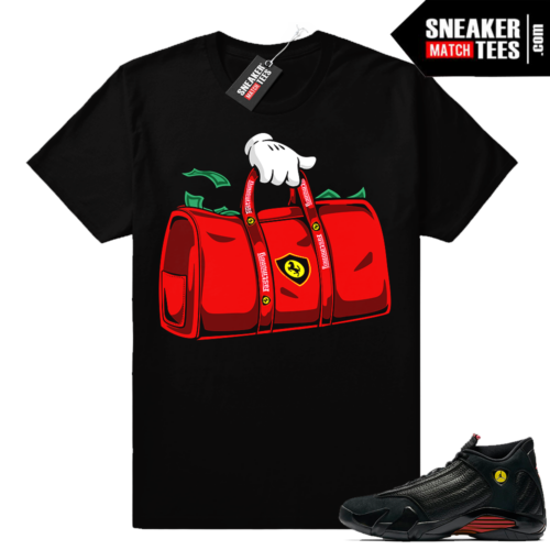 Jordan 14 last shot match shirt