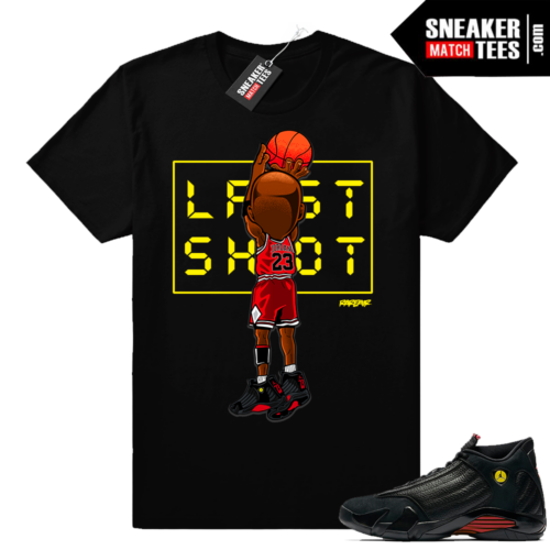 Jordan 14 last shot shirt match