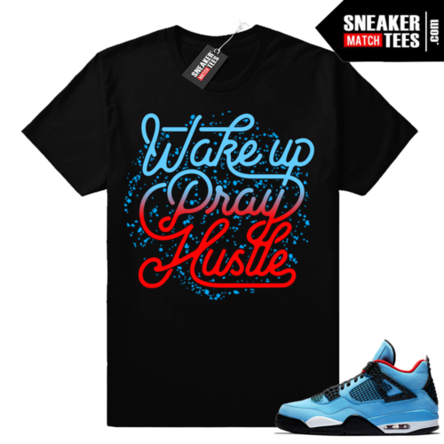 Jordan 4 Travis Scott shirt Cactus Jack