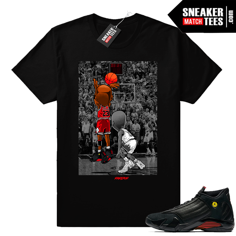 Last Shot 14 Jordan shirt