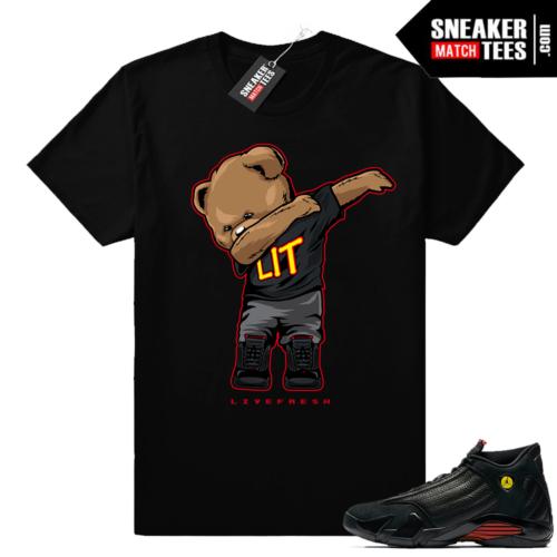 Last Shot Jordan 14 match shirt