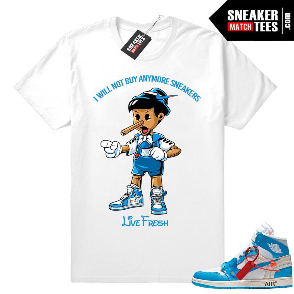 Off white Air Jordan 1 shirt