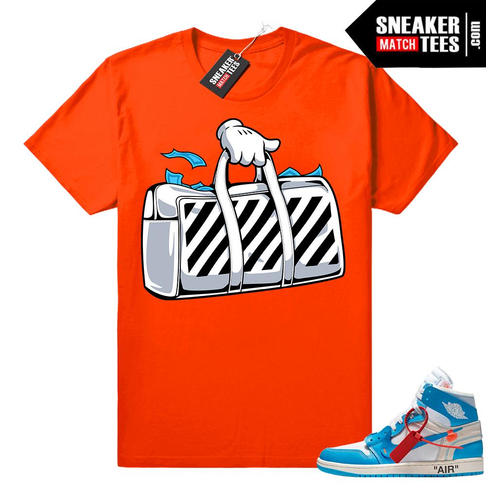 Off white Jordan 1 shirt