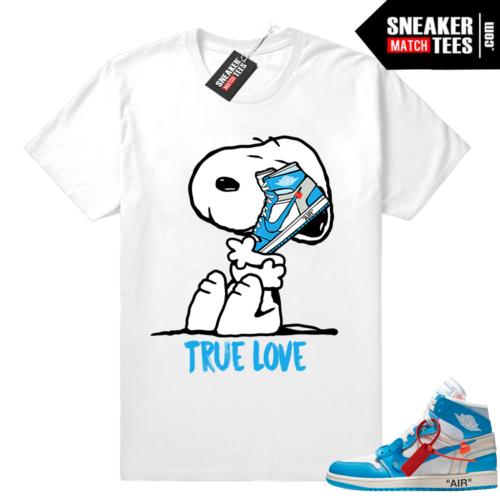 Off white Jordan shirt