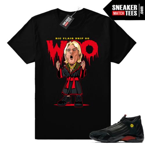 Ric Flair Drip shirt Jordan 14 Last Shot