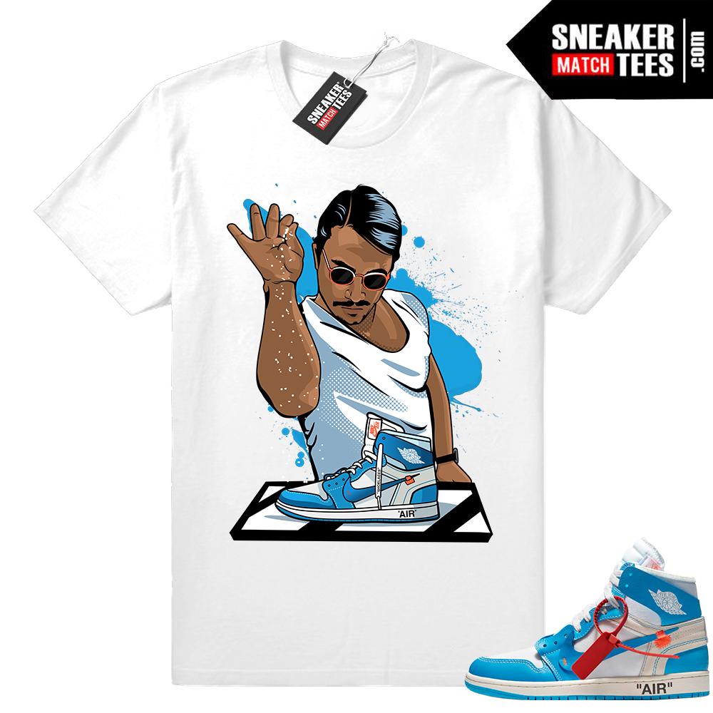 Salt bae Off-White Jordan 1 Shirt