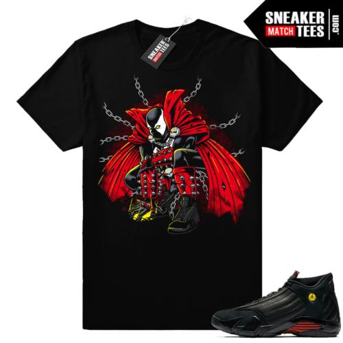 Spawn 2 shirt Jordan 14