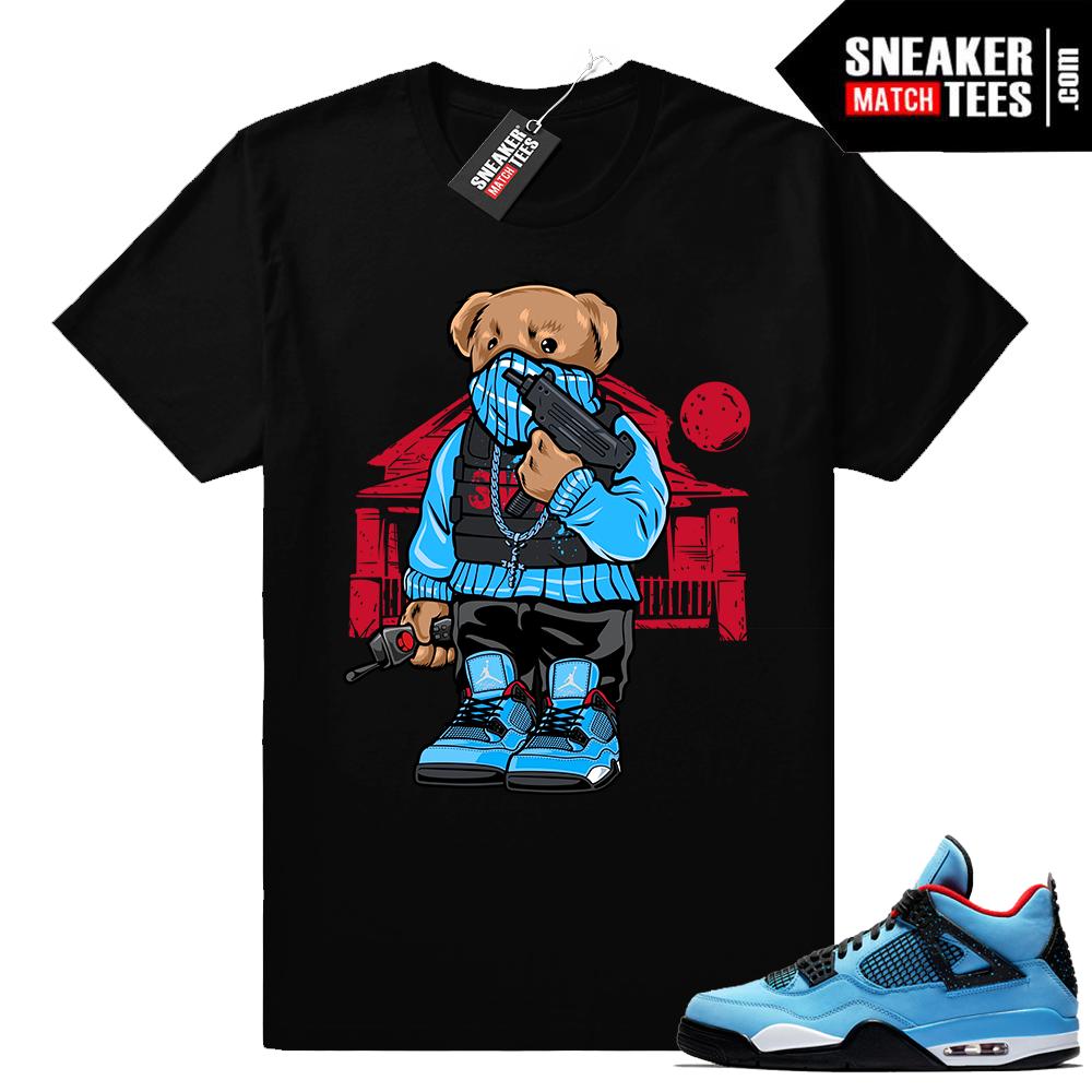 Travis Scott Jordan 4 t shirt match