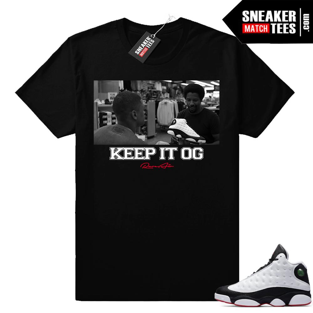 Air Jordan 13 He Got Game OG shirt
