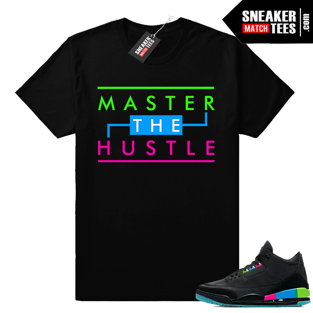 Air Jordan 3 Quai 54 shirts for sneakers