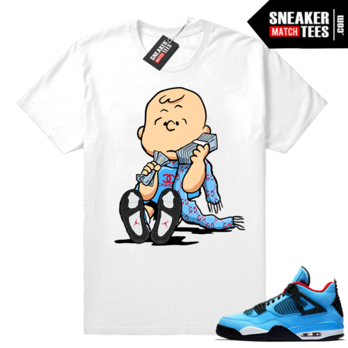 Air Jordan 4 matching shirt