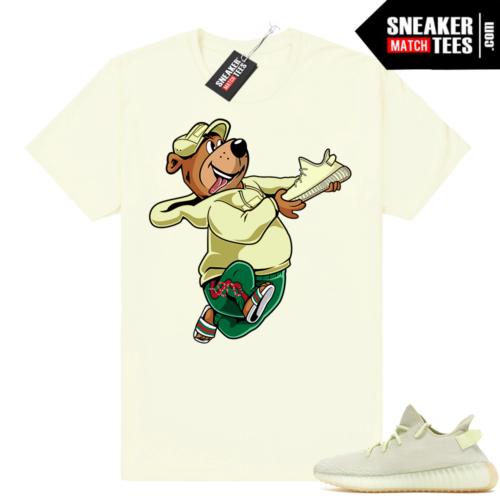 Butter Yeezy Boost matching shirt