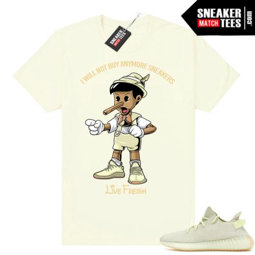 Butter Yeezy boost 350 shirt