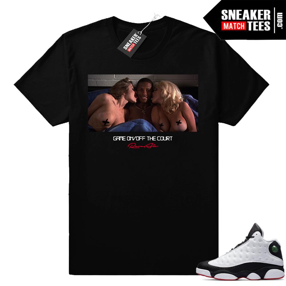 Jordan 13 He Got Game match shirt