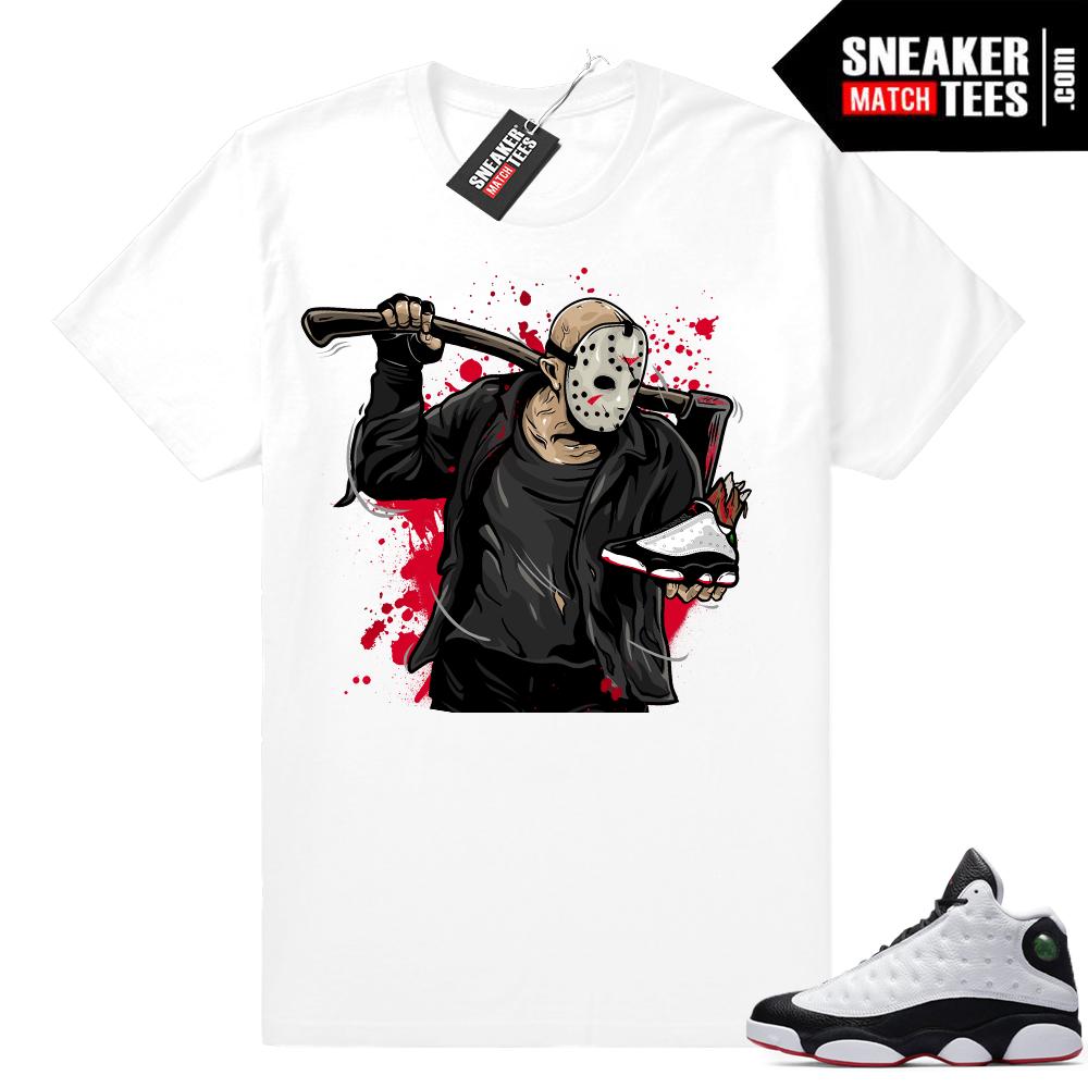 Jordan 13 shirt match He Got Game 13