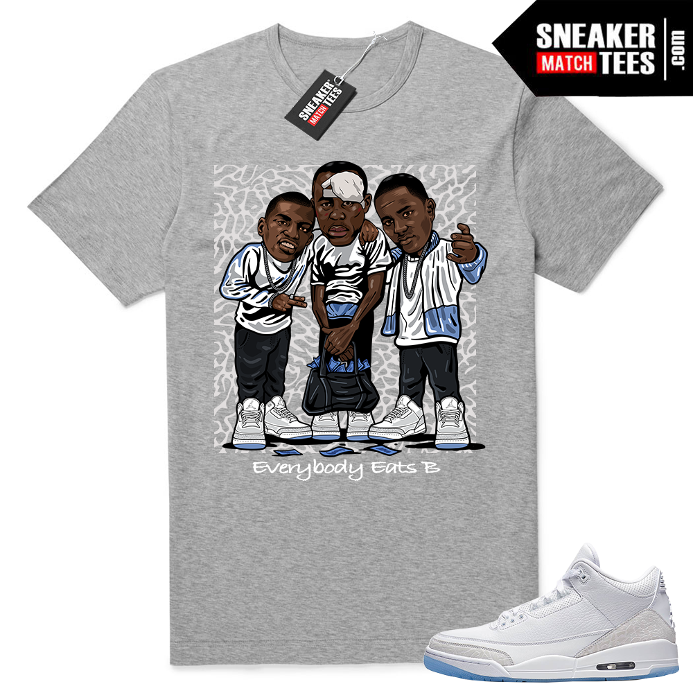 Jordan 3 shirts to match