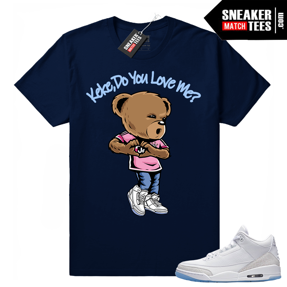 Keke do you love Me shirt Navy